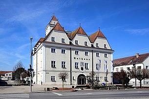 The town hall of Gänserndorf