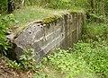 Góraszka, Regelbau 501, Ściana tylna, ujęcie z boku.JPG