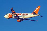 G-EZAN - A319 - EasyJet