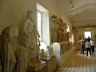 Archaeological Museum of Epidaurus - Image: GR 08 04 21 Museum 1 Epidauros