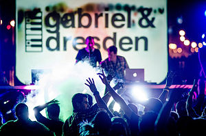 Gabriel & Dresden - Image: Gabriel & Dresden by Peter Chiapperino