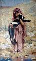 Gabriel Ferrier, jeune bergère algérienne.jpg