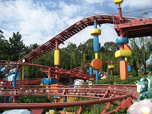 Gadget's Go Coaster - Tokyo Disneyland