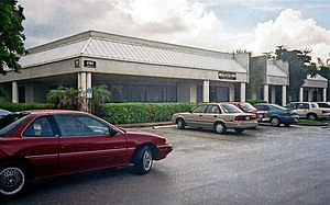 The Major BBS - Galacticomm headquarters (4101 S.W. 47 Ave., Suite 101, Fort Lauderdale, FL) in August 1994