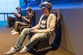 Gamescom - Sony Virtual Reality (VR) during Gamescom 2017