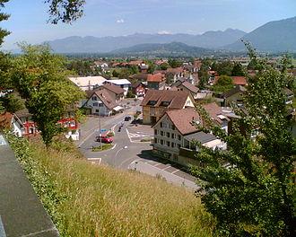 Gams - Gams village center