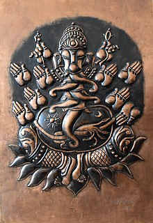 Ganesha Metal Relief by K.M.Gopal.jpg
