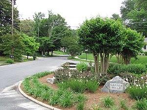 Garden Hills - at the corner of Rumson Road and Rumson Way