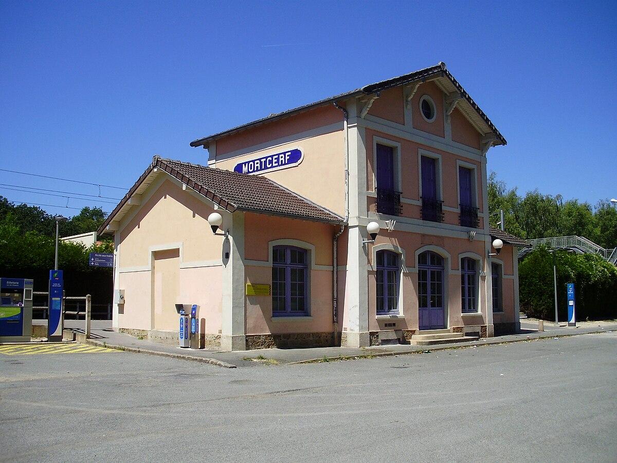 Gare de mortcerf wikip dia for Garage de la gare pontault
