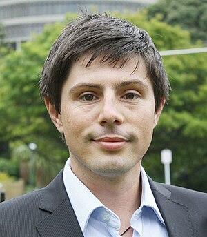 Green Party of Aotearoa New Zealand male co-leadership election, 2015 - Image: Gareth Hughes 2