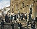 Garibaldi's Supporters in Termini Imerese, June 1860.jpg