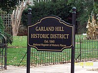 Garland Hill Sign Lynchburg Nov 08.JPG