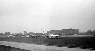 Timeline of Gatwick Airport - Gatwick in 1961