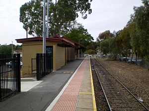 Gawler railway line - Gawler Central railway station