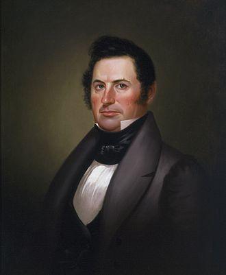 Richard Gentry - General Richard Gentry (George Caleb Bingham, 1837)