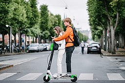 Generation Z kids on Electric Scooter (48263543577)
