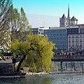 Geneve, Island Rousseau. Сен-Жерве Ле Берг, Женева, Швейцария - panoramio.jpg