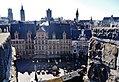 Gent Sint Veerleplein viewed from Burg Gravensteen 4.jpg