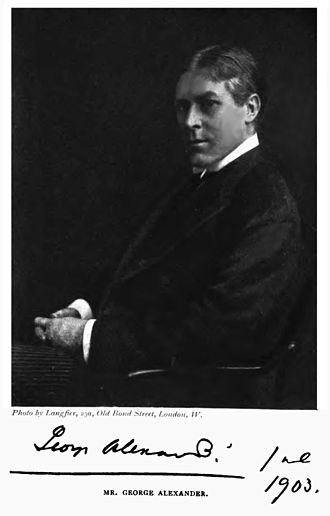 George Alexander (actor) - George Alexander by Louis Langfier 1903