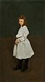 George Bellows - Little Girl in White (Queenie Burnett) (1907).jpg
