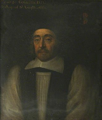 Bishop of St Asaph - Image: George Griffith DD, Bp of St Asaph