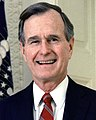 George H. W. Bush, President of the United States, 1989 official portrait cropped (cropped).jpg