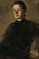 Portrait of Kitty van Vloten