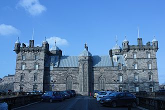 Alexander Black (architect) - The remodelled south side of George Heriot's School
