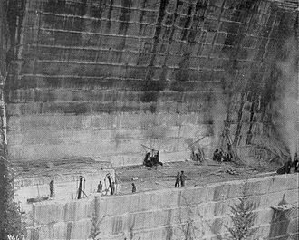 Georgia Marble Company - Georgia Marble Company quarry near Tate, Georgia, 1911