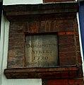 Georgian street sign, Mount Pleasant, London - geograph.org.uk - 2055064.jpg
