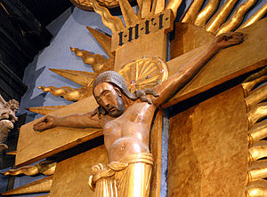Gero Cross - detail of Christ