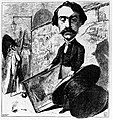 Gerome caricature by Henri Oulevay 1868.jpg