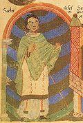 Gezemann, 1042 Bischof von Eichstätt, im Pontifikale Gundekarianum.jpg