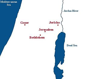 Gezer Map