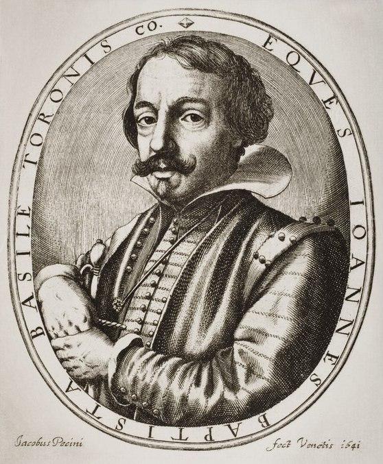 Giambattista Basile by Nicolaus Perrey