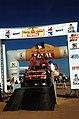 Gianni Lora Lamia Nissan Motorsport 22th Paris-Dakar-Cairo 2000 Podium Final Day Giza Pyramids Egypt.jpg