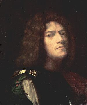 Giorgione - A possible self-portrait, perhaps as David