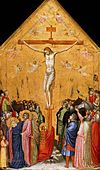 Giotto. Crucifiction. 1330s Staatliche Museen, Berlin.jpg