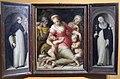 Giovan battista naldini e giovanni balducci, sacra famiglia tra santi, 1578, da spedale m&dolce 01.jpg