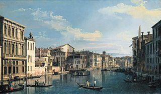 Venice: The Grand Canal from Palazzo Flangini to the Church of San Marcuola