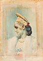 Girl Wearing a Kokoshnik in Profile by L.Bakst (priv.coll).jpg