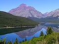 Glacier National Park Lower Medicine Lake - panoramio - Jim Helvey.jpg
