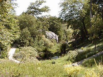 Glendurgan Garden - Image: Glendurgan View 02