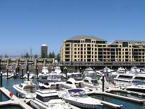 Glenelg North, South Australia - Holdfast Marina, Glenelg North