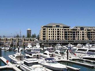 Glenelg North, South Australia - Holdfast Marina, Glenelg North