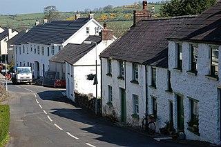 Glenoe village in the United Kingdom