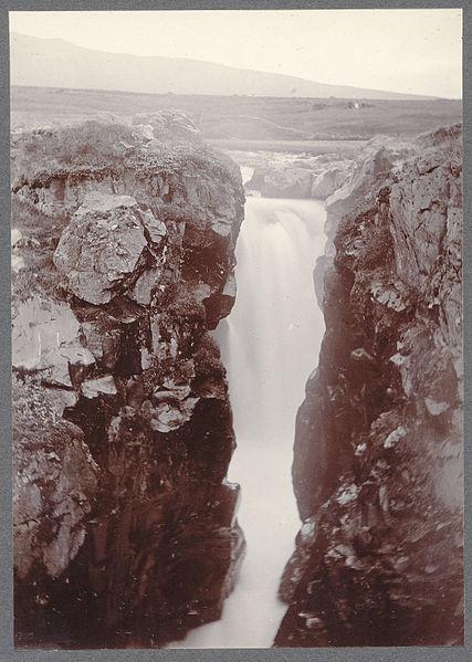 File:Glerárfoss, near Akureyri..jpg