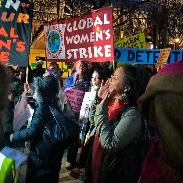 File:Global Women's Strike at the Stop Trump Rally (32979190496).jpg