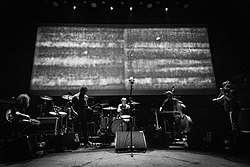 Godspeed You! Black Emperor performing live in Roadburn festival in 2018