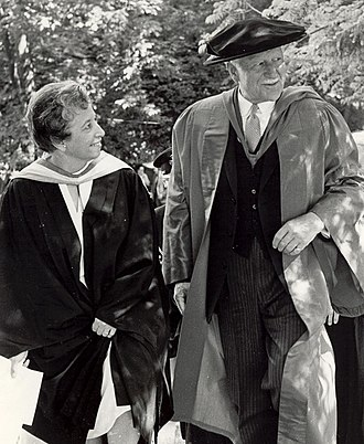 Governor General of Canada - Governor General Roland Michener attends graduation ceremonies at Alma College in 1972